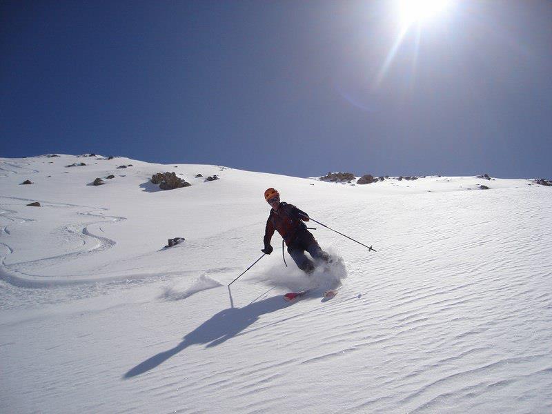 Esquí fuera pista en Boí Taüll