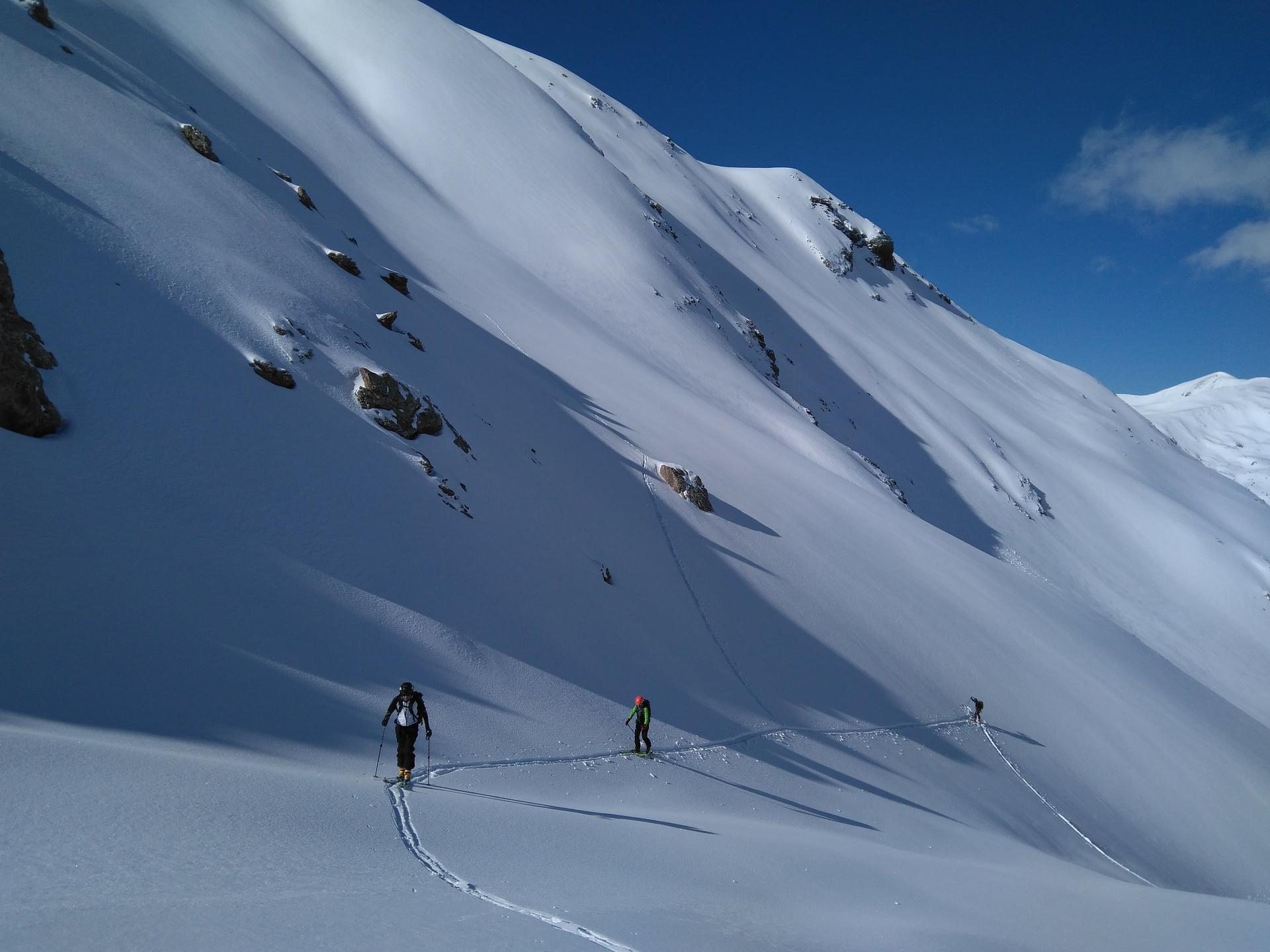 Esquí de montaña en los Pirineos