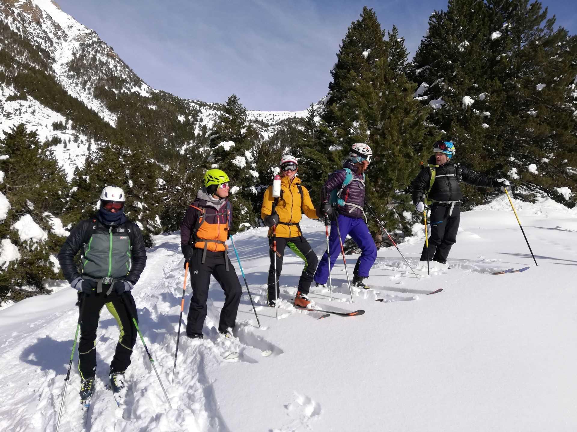 Curs d'Esquí de Muntanya Nivell 1